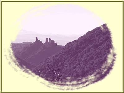 Vue des châteaux