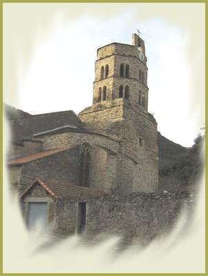 Le clocher de l'église Saint-Etienne