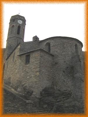 L'église Notre-Dame de la Lauze