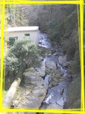 Une microcentrale hydroélectrique