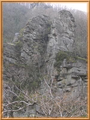 Un rocher près du roc du bougre