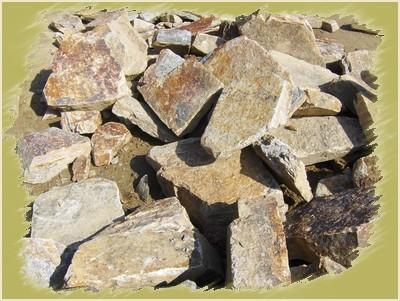 Les pierres de gneiss de Lacoste