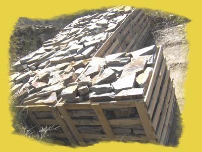 La pierre de Lacoste prête pour la livraison