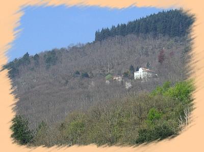 Le château du hameau de Saint-Julien