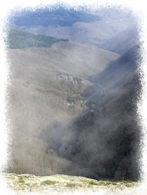 La vallée vue de Cubserviès